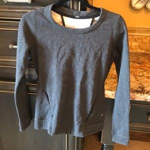 Lululemon sweatshirt heather gray 2